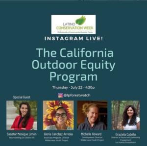 Outdoor Equity Grants